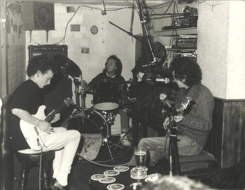 Me,Noel Redding and Mitch Mitchell 1990