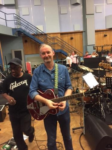 Reheasals at Abbey Road