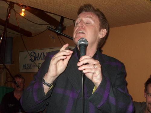 Mike McCartney at Shanleys