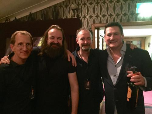 Andrew Holdsworth,Damian Wilson,Me and Tony Hadley