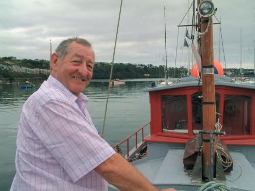 Moss Shanley on board