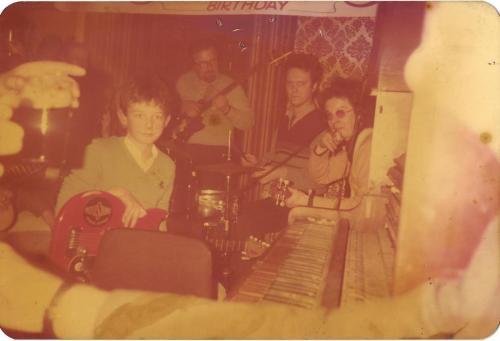 Me and Noel Redding 1982