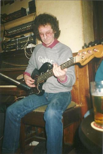 Noel Redding at Shanleys